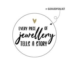 Stickers || Juwellery   ||10 stuks