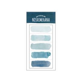 Memo Sticky    Watercolor    Noshimehana