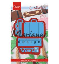 MD|| Creatables|| Snijmal|| koffertje|| Nieuw