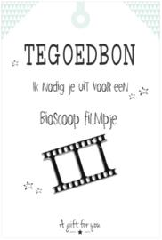 Tegoedbon 'Bioscoop' groen