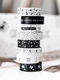 Masking tape ||Dots White