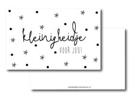 Minikaart ||Kleinigheidje voor jou!