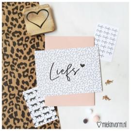 Postkaart ||Liefs
