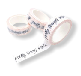 Masking tape ||Pretty things inside || Pink