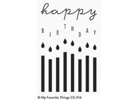 My Favorite Things|| Stempel||  Happy Birthday Candles|| Nieuw