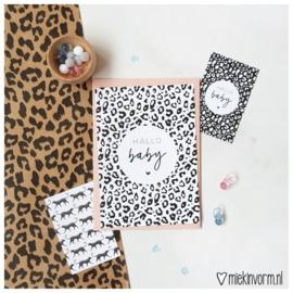 Postkaart ||Hallo baby