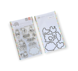 Mama Elephant || Sincerely yours || Stempel & stansjes