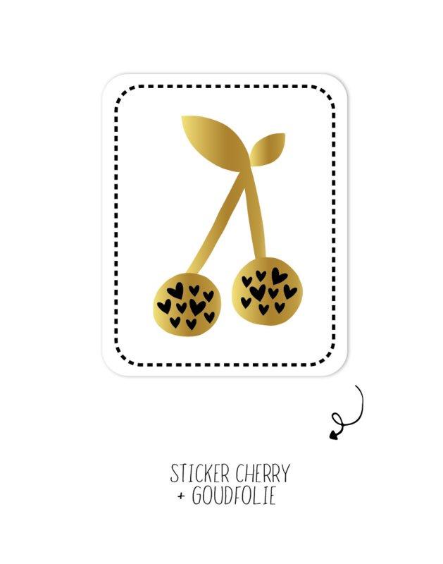 Stickers ||Cherry ||10 stuks