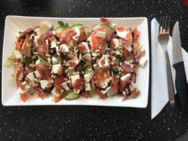 Salad BLT & mozzarella