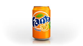 Fanta Orange can 0.33L