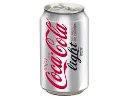 Coca Cola Light can 0.33L
