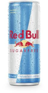 Red Bull Sugarfree blik