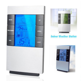 Digital LCD hygrometer Alarm Clock