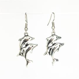 Bijoux  Dolfijn Verklaring oorbellen