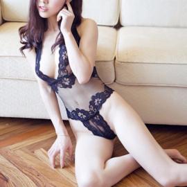 Transparante Siamese Bodydoll Nachtkleding