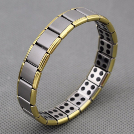 Man/vrouwen Germanium Titanium Energie Elastische Armband Power Bangle anti-vermoeidheid Gift