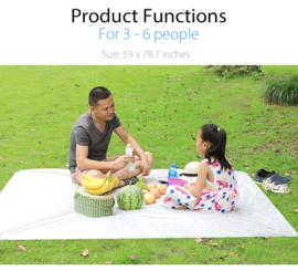 Wegwerp waterdicht picknick deken