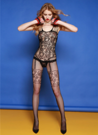 Hot Open Crotch Fishnet  Plus Size