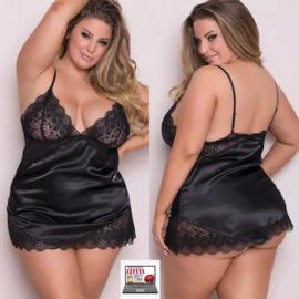 Sexy  Plus Size V-hals Lingerie
