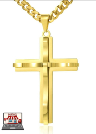 Kruis Hanger Gold Plated