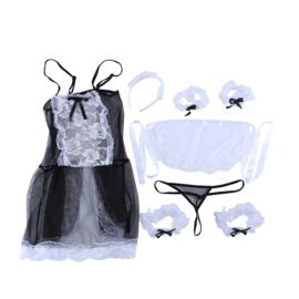 Sexy Serveerster uniform  set
