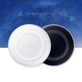 Wireless mobiele qi draadloze oplader Zwart