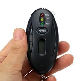 Mini digitale blaastest sleutelhanger