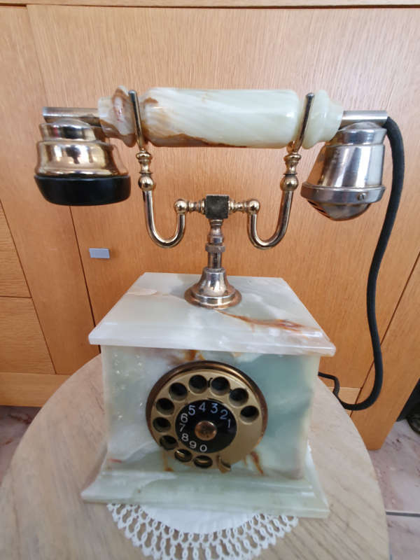 Brocante  Onyx  Telefoon toestel