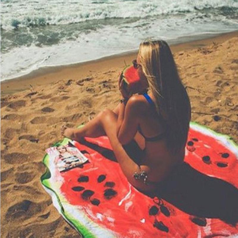 Strandkleed 150cm Watermeloen patoon
