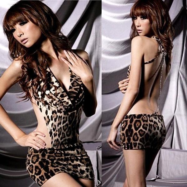 Sexy Leopard jurk