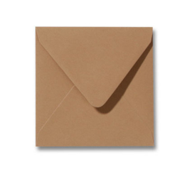 Kraft kleur envelop