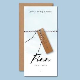 Geboortekaartje Finn