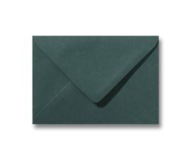 Donker groene envelop