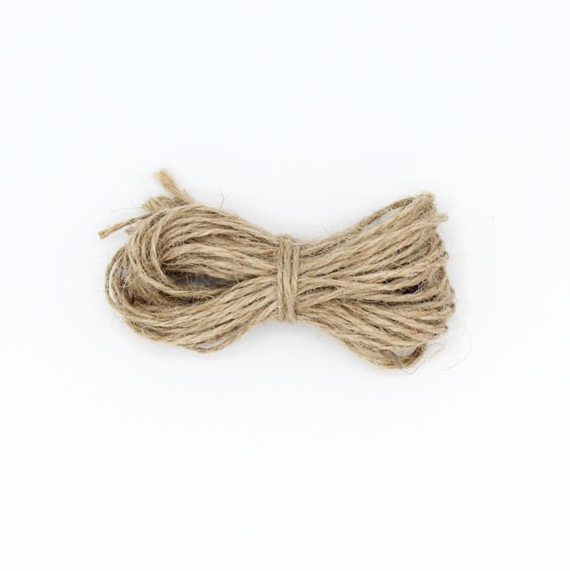 Jute touw - 25 stuks