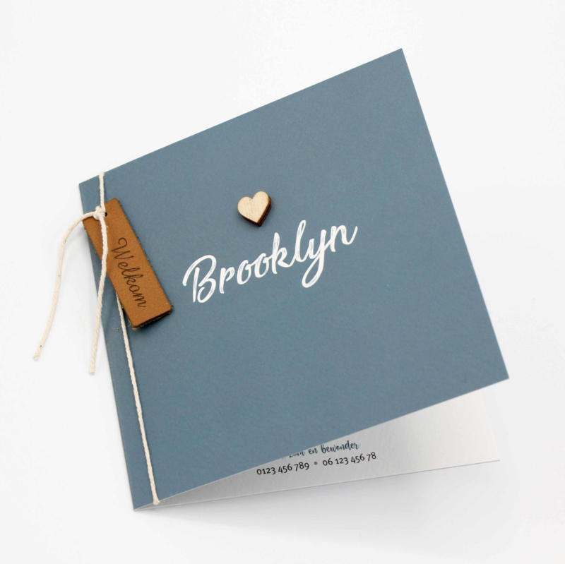 Geboortekaartje Brooklyn