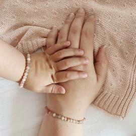Maansteen armband, kids