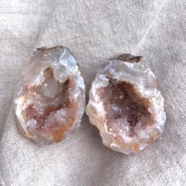 Agaat geode *3 verkocht