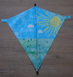 Knutselpakket: Vlieger maken en versieren