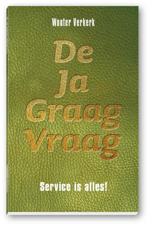 Pre order boek: De Ja Graag Vraag | Wouter Verkerk (levering 16 maart)