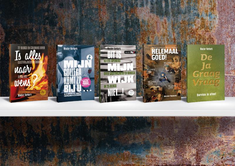 5 boeken vol blogs en columns