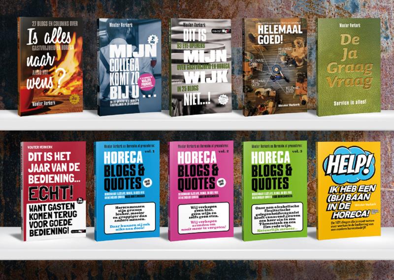 Alle 9 van Wouter en 2 andere boeken voor €75!