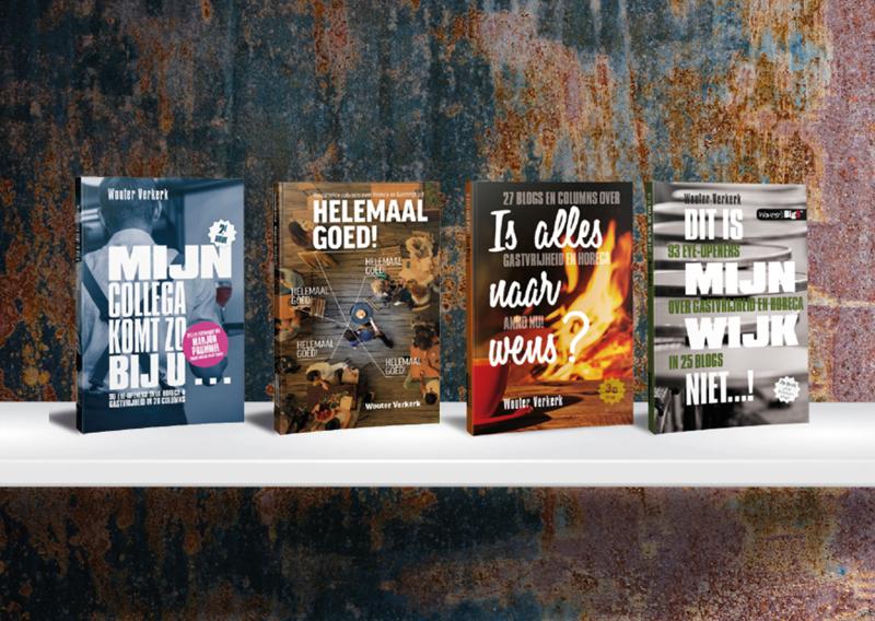 Heel veel Blogs! Vier boeken van Wouter Verkerk voor €39,00