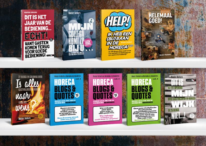 De 9 boeken Van Wouter Verkerk voor €79!