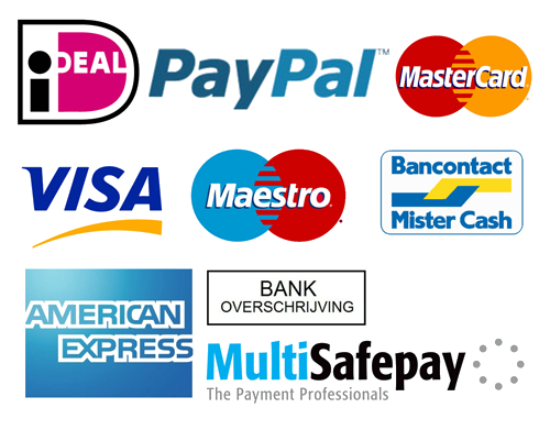 Alle betallingsmoglijkheden