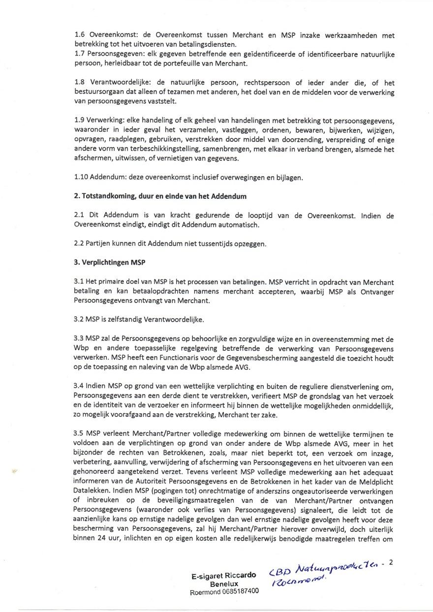 Verwerkinsovereenkosmst van MS_8