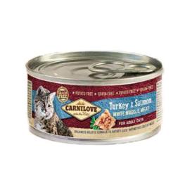 Carnilove Blik Turkey & Salmon 100gr
