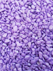 Aquarium grind glitter gravel lila ± 1kg