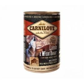 Carnilove Blik Lamb&WildBoar 400gr