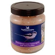 vogelbescherming pindakaas bosvruchten 330gr