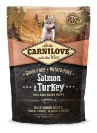 Carnilove large breed puppy Salmon & turkey